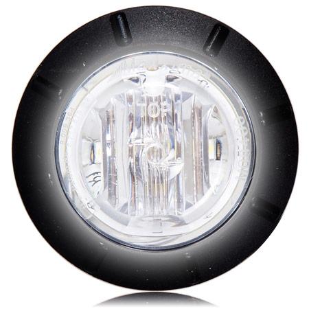 """MAXXIMA M09400WCL Mini 1-1//4/"""" Dia 6 LED Courtesy Light 80mA New"""