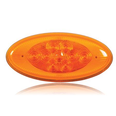 M63122y Lightning Oval Amber Side Turn Side Marker
