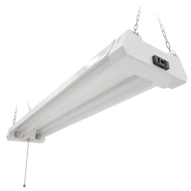 MSL-202500C: 2 Ft. Utility LED Shop Light Fixture