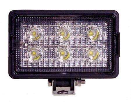 mwl 05sp rectangular led work light 1 200 lumens rh maxxima com 12V LED Wiring Diagram LED Lights