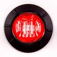 "3/4"" Red Combination Clearance Marker Light"
