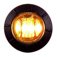 "3/4"" Amber Combination Clearance Marker Light"