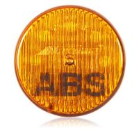 "2"" Round Amber ABS Light"