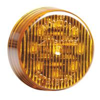 "2"" Round Amber Clearance Marker Light"
