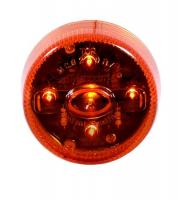 "2"" Round Amber LED Clearance Marker Light"