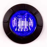 "3/4"" Blue LED Courtesy Light With Clear Lens"