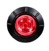 "3/4"" Round P2 Clearance Marker  Red Clear Lens"