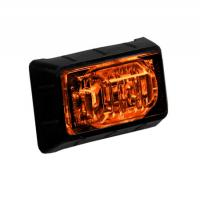 "1.5"" Amber Mini P2PC Clearance Marker Light with 3 LEDs"