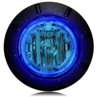 "1 1/4"" Blue LED Mini Courtesy Marker Light"
