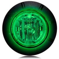 "1 1/4"" Green LED Mini Courtesy Marker Light"