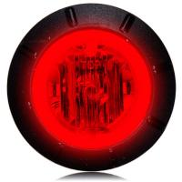 "1 1/4"" Red LED Mini Combination Clearance Marker Light"