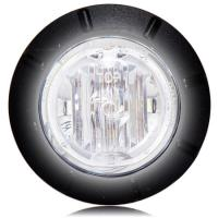 "1 1/4"" White LED Mini Courtesy Marker Light"