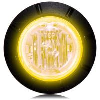 "1 1/4"" Amber LED Mini Combination Clearance Marker Light"