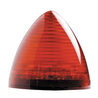 LED 2 1/2� Beehive Red Clearance Marker
