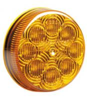"2 1/2"" Round Amber Clearance Marker"