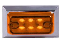 Rectangular Amber Clearance Marker Light