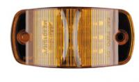 "4"" Combination Amber Clearance Marker - 14 LED'S"