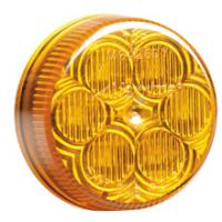 "2"" Round Amber Clearance Marker"