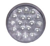 "4"" Round White Back Up Light"