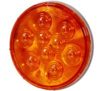 "4"" Round Amber Park/Rear Turn Light"
