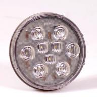 "4"" Round White LED Backup Light"