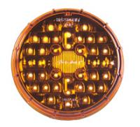 "4"" Round Amber Park/Turn Gorilla Light"