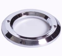 "2 1/2"" Chrome Plastic Grommet Cover"