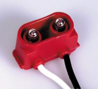 "2-Pin Right Angle CM Plug 6"" Leads"