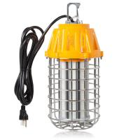 High Bay LED Temporary Work Light Fixture, 60 Watt 7,200 Lumens Daylight 5000K