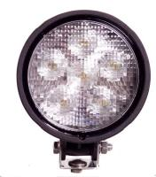 Round LED Work Light - 1,500 Lumens