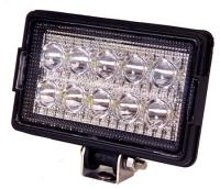 Rectangular LED Work Light - 1,800 Lumens