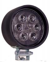 "4"" Round Rubber Housing LED Work Light"