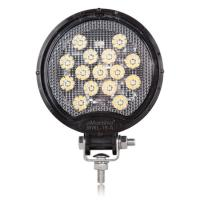Round 15 LED Black Work Light 675 Lumens 12/24VDC
