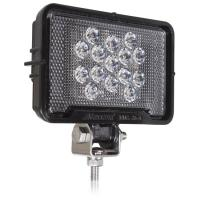 mwl 26 a rectangular light weight 675 lumen 15 led work light