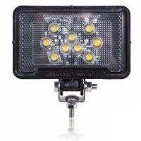 Rectangular Light Weight Composite 500 Lumen 9 LED Work Light
