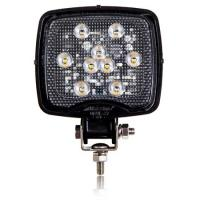 Square Light Weight Composite 500 Lumen 9 LED Work Light
