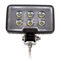 Rectangular 1,200 Lumen 6 LED Work Light