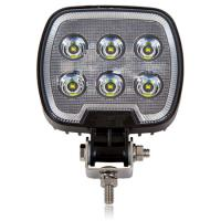 Square 1,200 Lumen 6 LED Work Light