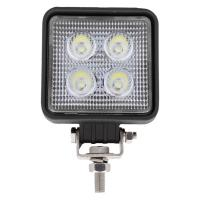 Mini Square 4 LED Work Light 750 Lumens 12/24VDC
