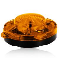 "3.50"" Amber Round Battery Operated Emergency Flasher"