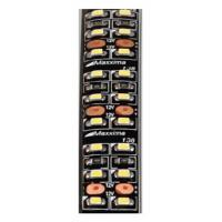 "18"" White Double Row LED Adhesive Strip Light"